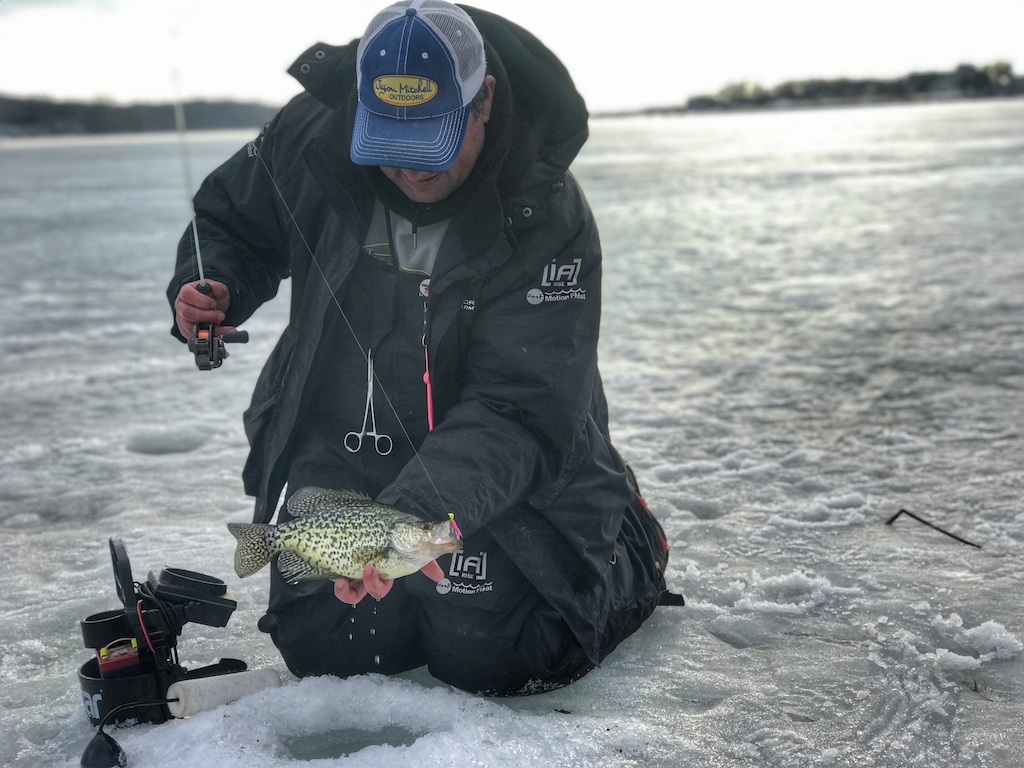 Jason Mitchell Early Ice Crappie